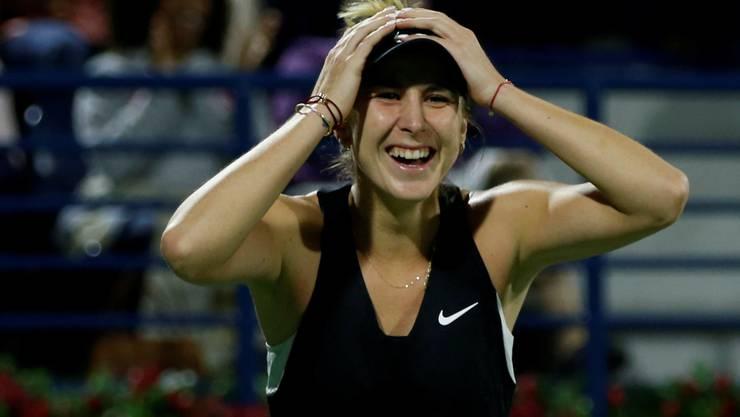 2019 war das Jahr, in dem Belinda Bencic zwei Titel gewann und bei den US Open erstmals bei einem Grand-Slam-Turnier die Halbfinals erreichte.