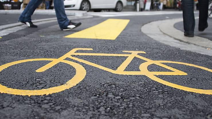 Nicht alle Städte machen gleich viel für die Velofahrer (Symbolbild)