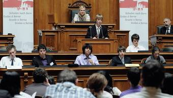 Die Staatskundewochen sollen Kindern die Politik näher bringen (Archiv)