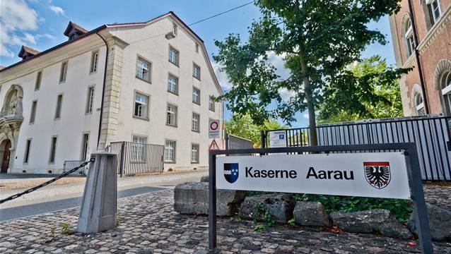 Die Aargauer Offiziersgesellschaft setzt sich für den Erhalt der Kaserne ein.