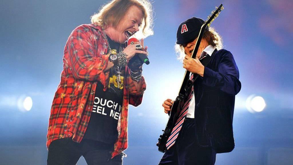 Angus Young gibt AC/DC nicht auf