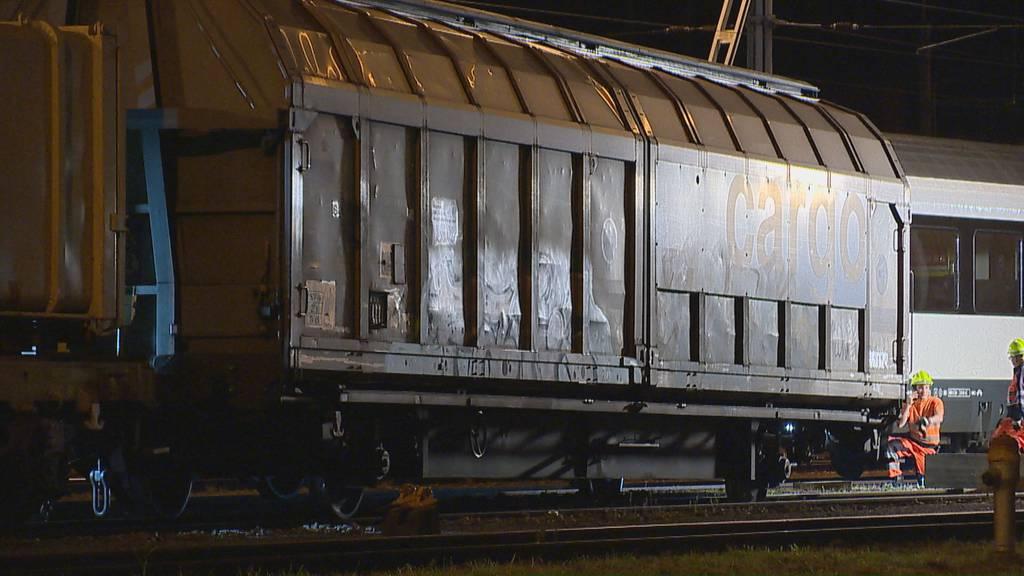 Güterwagen entgleist – 22-Jähriger wird verletzt