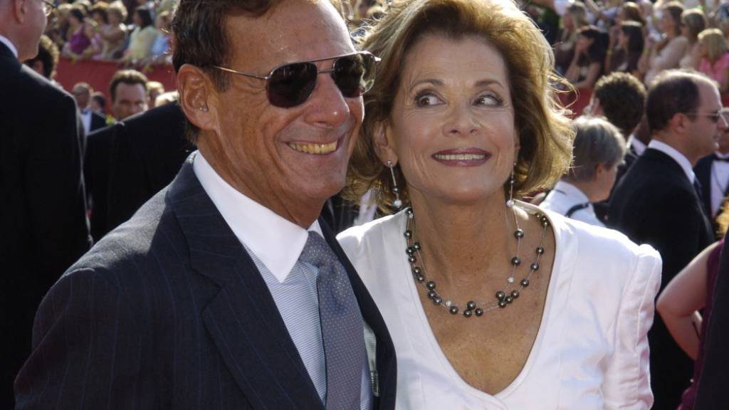 Ron Leibman mit seiner Frau Jessica Walter. (Bild von 2005)