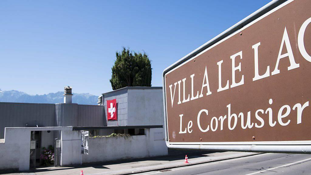 Le Corbusiers Villa «Le Lac» (1923-24) auch «La petite Maison» genannt, ist seit Sonntag UNESCO-Weltkulturerbe.