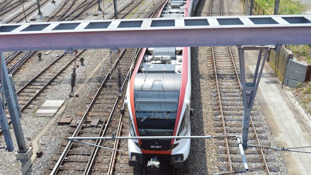 Bettler in den Zügen von Luzern nach Sursee