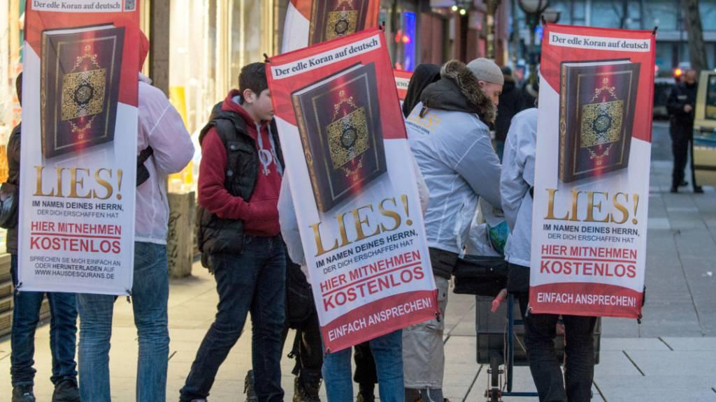"""Ständerat will Organisation """"Lies!"""" nicht verbieten"""