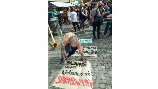 Bildungsinitiativen, Resolutionen und Strassenproteste. Die Baselbieter Bildungspolitik ist chaotisch. Foto: Nicole Nars-Zimmer