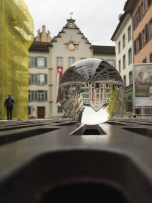 Fotowalk des Stadtmuseums Aarau. Bild von Julie Kehl.