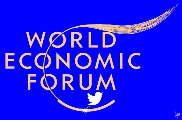 Zweimal besuchte Trump das World Economic Forum in Davos. Die Einladung an den mächtigsten Mann der Welt hat den WEF-Gegnern viel Munition geliefert.