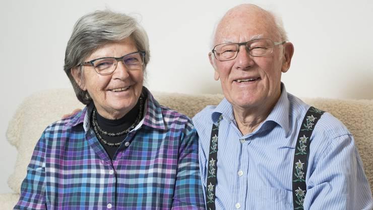 Beatrice und Charles Rätz sind Limmattaler des Jahres, Urdorf, 22. Dezember 2016.