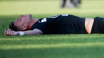 Giuseppe Leo zeigt sich sehr enttäuscht über das Cup-Aus gegen Sion.