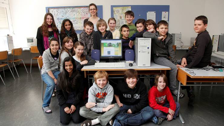 Die Schulklasse von Romana Cupa hat an einem Internetwettbewerb teilgenommen und eine eigene Website zu Fairtrade entworfen. Hanspeter BÄrtschi