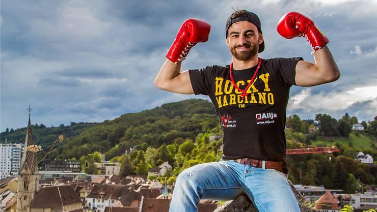 Der Badener Andranik Hakobyan will sich an die Weltspitze boxen. Fabio Baranzini