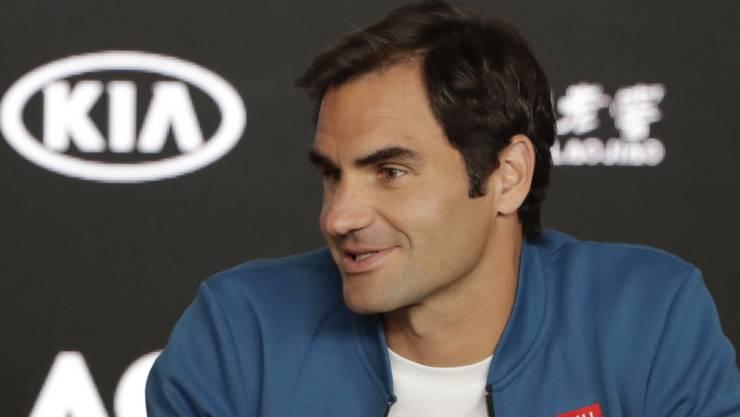 «Eine kleine Unsicherheit bleibt immer»: Roger Federer ist vor seinem ersten Einsatz in Melbourne vorsichtig.