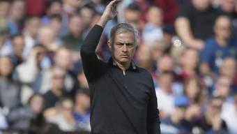 Der Gesichtsausdruck sagt alles: José Mourinho ist mit dem Gebotenen nicht zufrieden