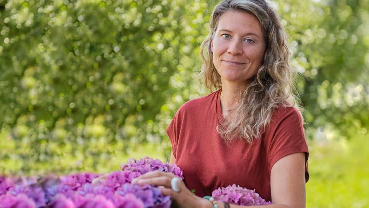 Nicole Stuber lebt auf dem Zieglerhof in Brunnenthal.