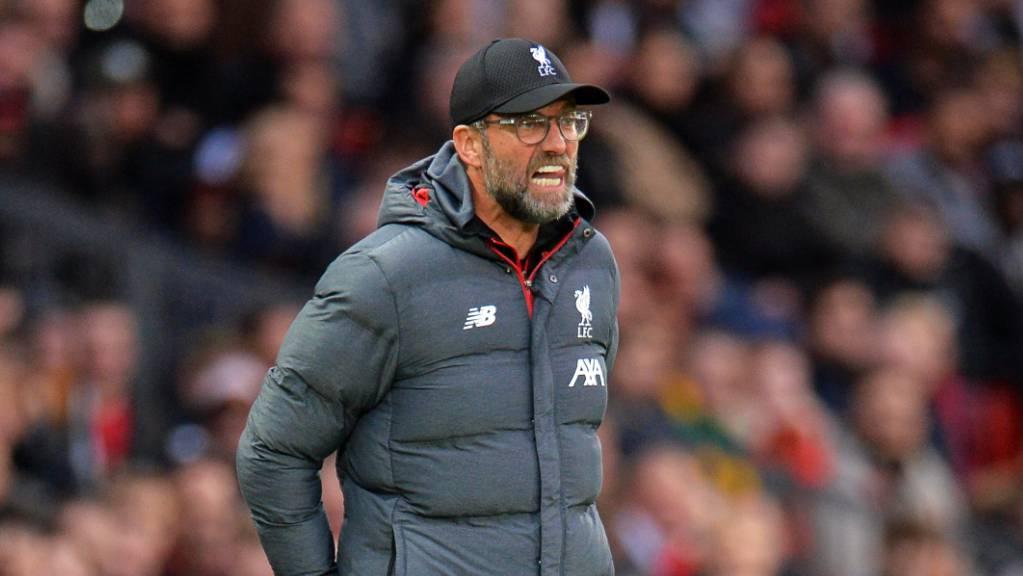 Liverpools Trainer Jürgen Klopp steht ein intensiver Dezember bevor