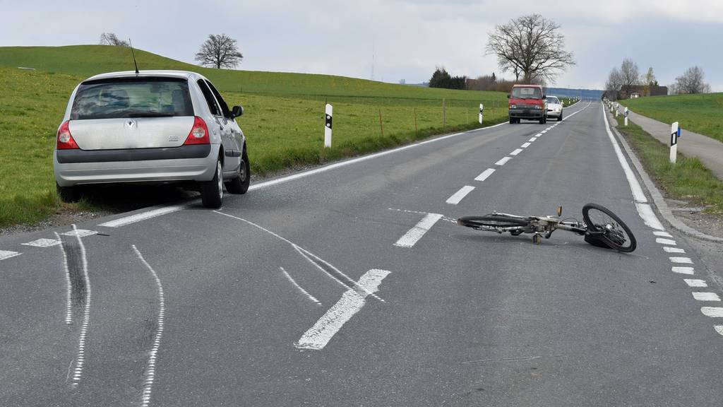 Auf der Kantonsstrasse bei Buttisholz kam es am Mittwoch zum Unfall.