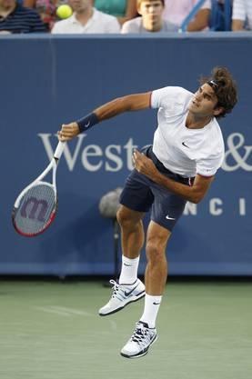 Tomic brachte Federer nie in Verlegenheit.