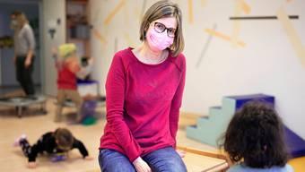 Erika Hofmann, Leiterin der Kinderkrippe Schwanenaescht in Aarau.