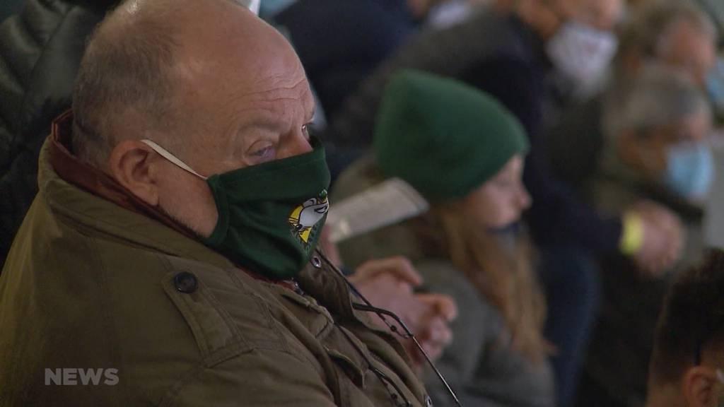 Situation im Kanton Solothurn: Personenbeschränkung und Sperrstunde
