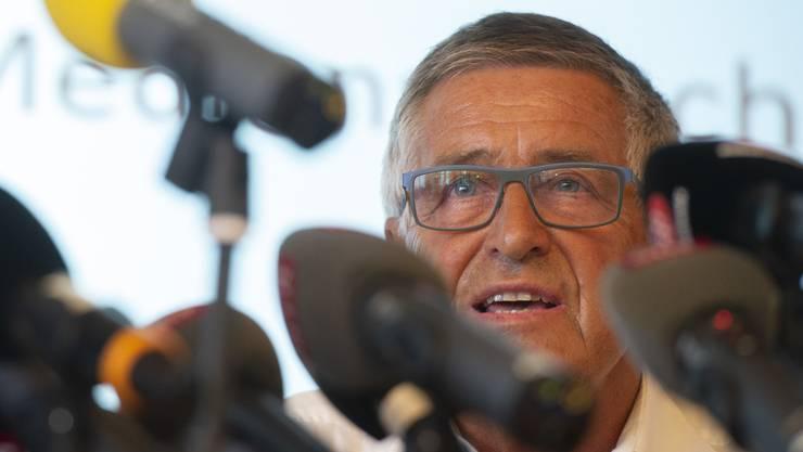 CEO Kurt Waldmeier nimmt den Hut als CEO der Ju-Air. (Archiv)