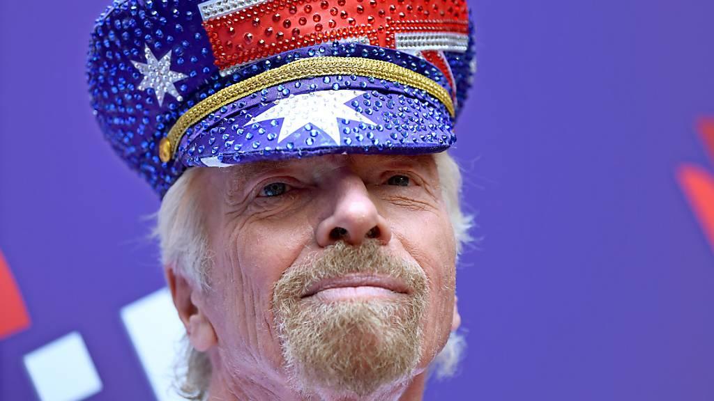 Unternehmer Richard Branson wird 70