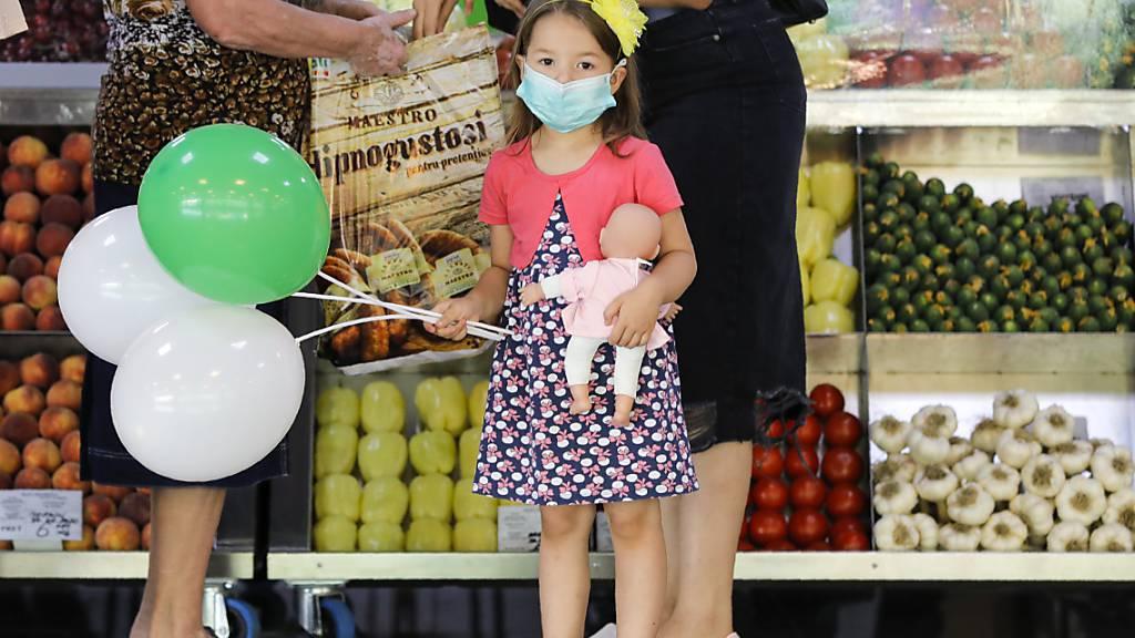 Rekord an Neuinfektionen mit dem Coronavirus