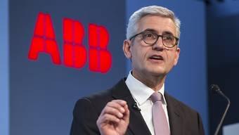 ABB-CEO Ulrich Spiesshofer.