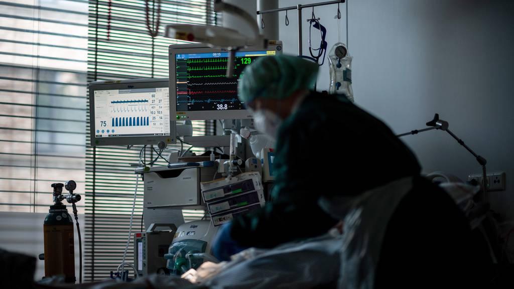 Ostschweiz: Nirgends liegen mehr Covid-19-Infizierte auf den Intensivstationen