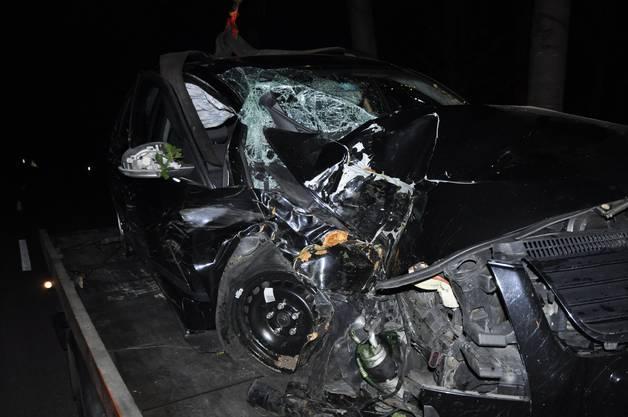 Der Lenker blieb unverletzt.