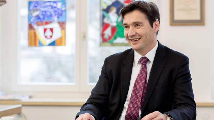 Stadtpräsident François Scheidegger ist grundsätzlich zufrieden mit seinem ersten Jahr im Amt.