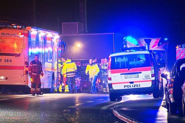 Über 16 Personen wurden leicht verletzt