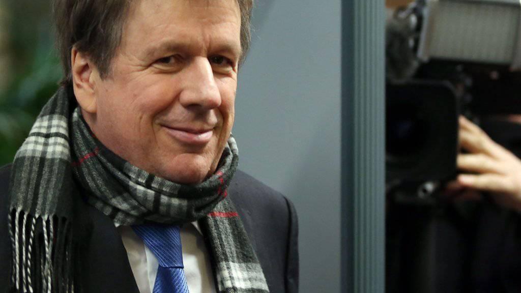 Wetter-Moderator Jörg Kachelmann will Schadenersatz von seiner Ex-Geliebten - und hat wohl gute Chancen im Gerichtsverfahren. (Archiv)