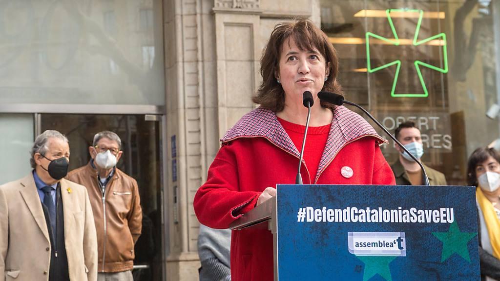 Kataloniens Separatisten fordern Selbstbestimmung