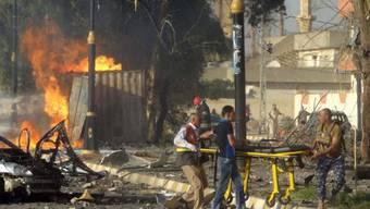 Der Bombenanschlag in Kirkuk forderte dutzende Tote (Archiv)