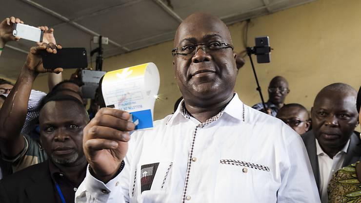 Der oppositionelle Kandidat Felix Tshisekedi hat die Präsidentschaftswahl in der Demokratischen Republik Kongo gewonnen. (Archivbild)