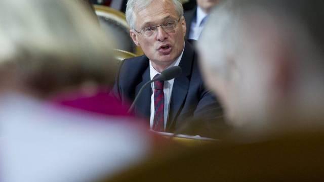 Der Vater der Abzockerintiative, Ständerat Thomas Minder