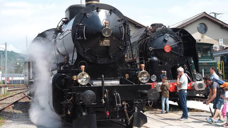 Beim Tag der offenen Tore im Bahnpark Region Brugg gab es wieder neue Attraktionen und Höhepunkte – kein leichtes Unterfangen bei der inzwischen neunten Auflage des beliebten Familienanlasses.