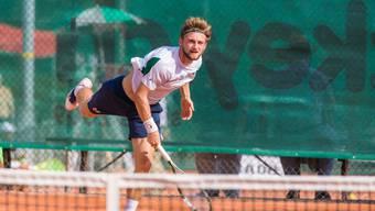 Jeremy Moser spielt für die zweite Mannschaft von Froburg Trimbach in der NLC