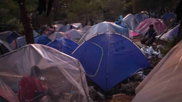 Die Situation in den Lagern auf den griechischen Inseln Samos, Leros, Kos, Chios und Lesbos ist prekär.
