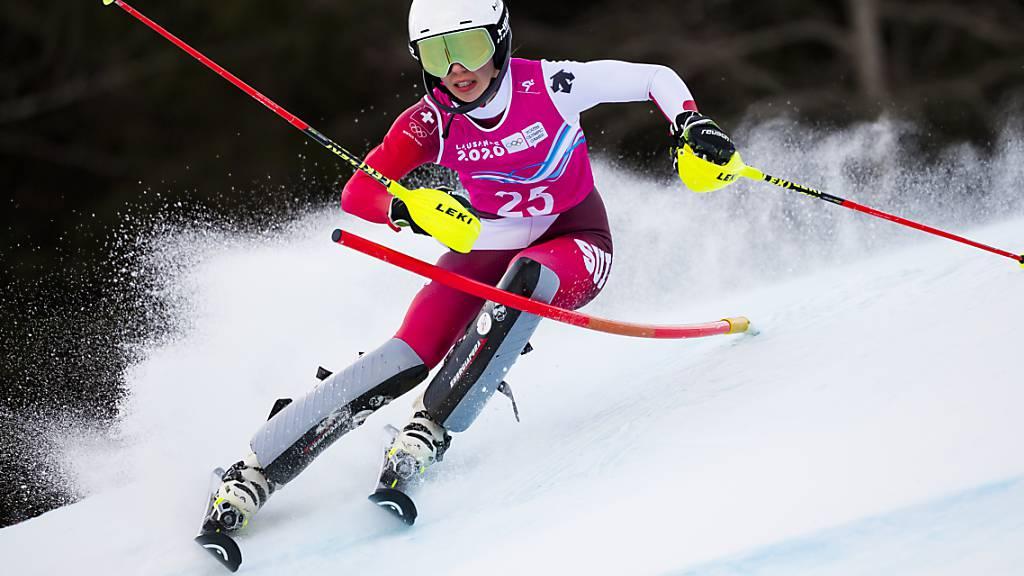 Amélie Klopfenstein mit erstem Schweizer Meistertitel