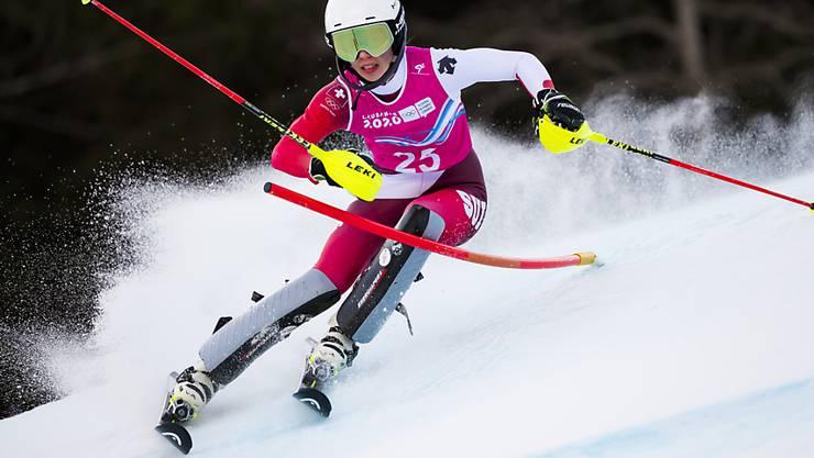 Amélie Klopfenstein überzeugte schon im Januar bei den Olympischen Jugendspielen