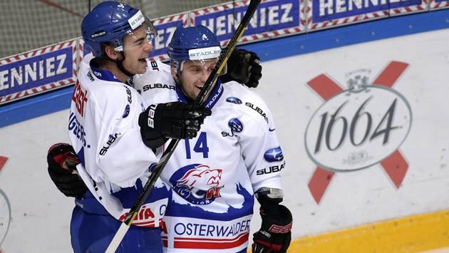 Torgarant: Alexandre Tremblay (rechts) hat im Schweizer Eishockey Spuren hinterlassen.