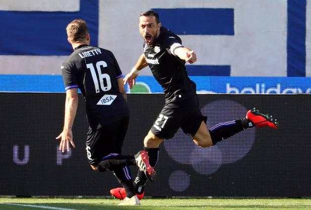 Fabio Quagliarella trifft in der Serie A wie am Laufmeter.