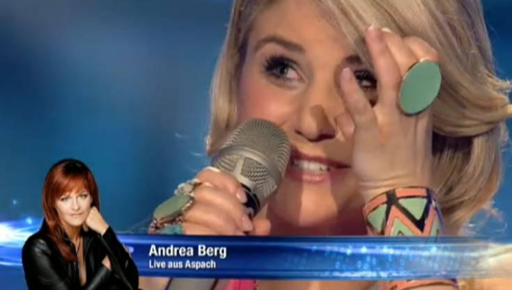 Das Lob von Andrea Berg rührte Beatrice Egli zu Tränen.
