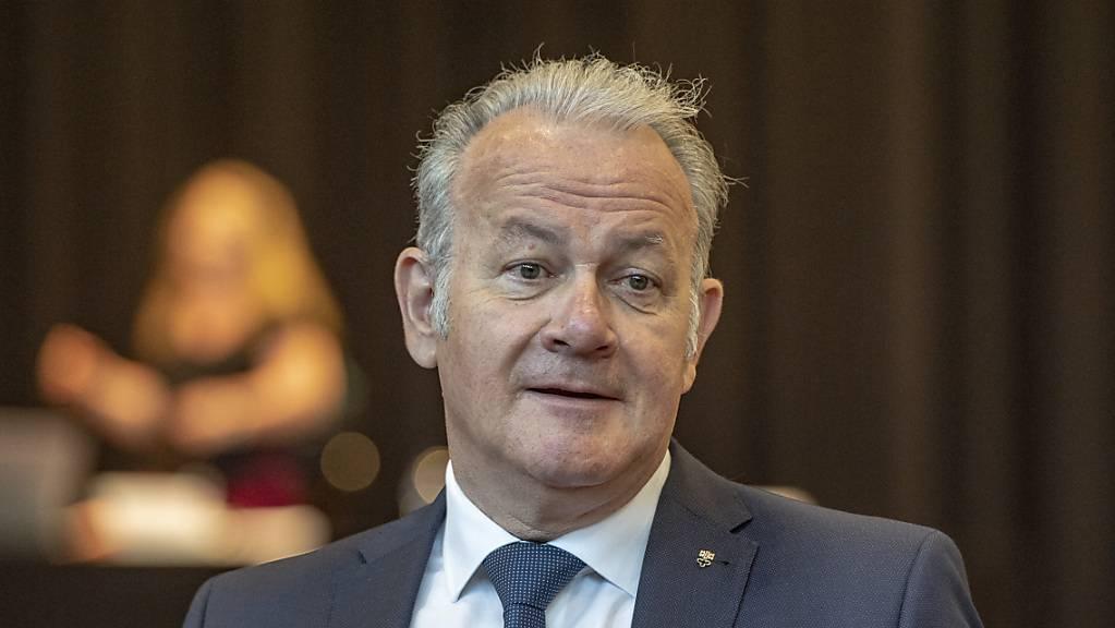 Will für eine zweite Amtszeit kandidieren: Der Nidwaldner Landwirtschafts- und Umweltdirektor Joe Christen. (Archivbild)