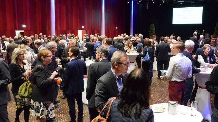 Neujahrsempfang für Unternehmerinnen und Unternehmer im Campussaal Brugg-Windisch