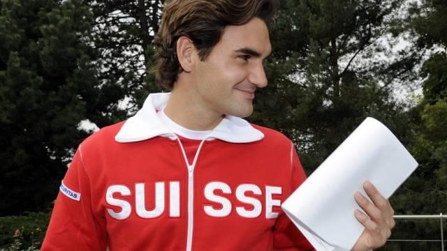 Roger Federer kann das Davis-Cup-Team gegen die USA nicht unterstützen