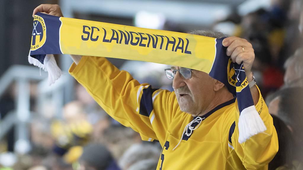 Langenthal kommt in der Swiss League immer besser in Fahrt. (Archivbild)